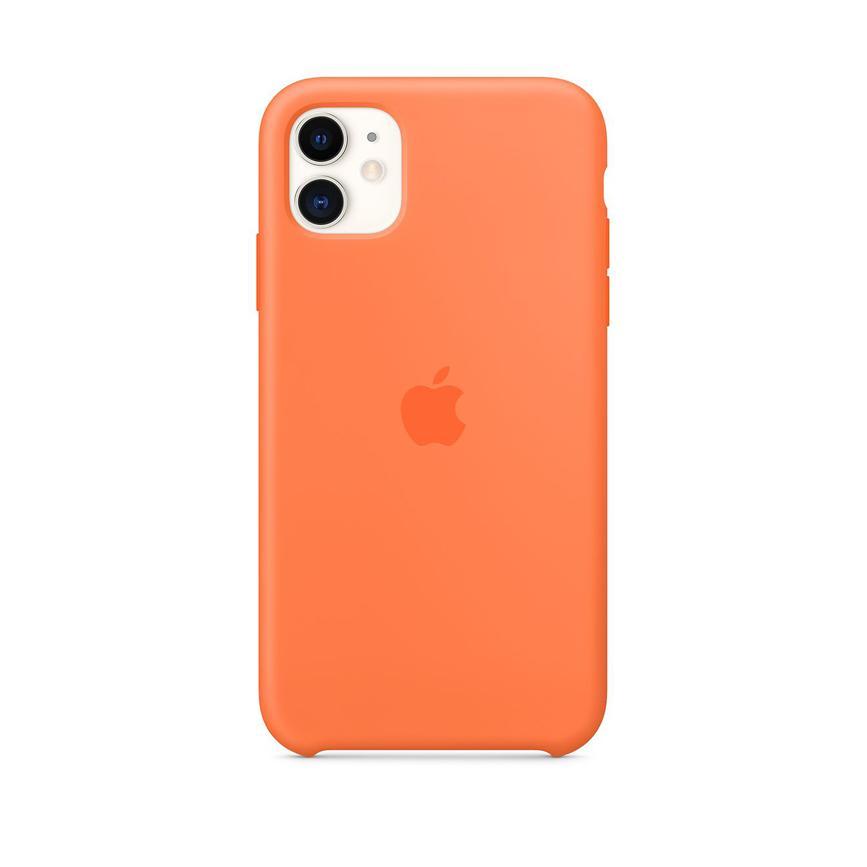 Coque en silicone pour iPhone 11